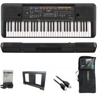 KIT Teclado Arranjador PSR-E263  Yamaha Com Bag
